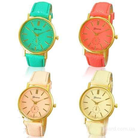 Отличный подарок девушке – наручные часы «Geneva» Купите наручные часы унесекс «Geneva»! Хит сезона. Качественные часы за разумную цену. Отличный пода