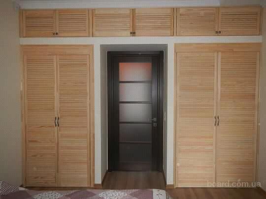 Сборка шкафа из дверей жалюзи продам в киев, украина. цена д.