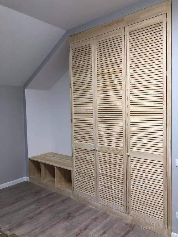 сборка шкафа из дверей жалюзи