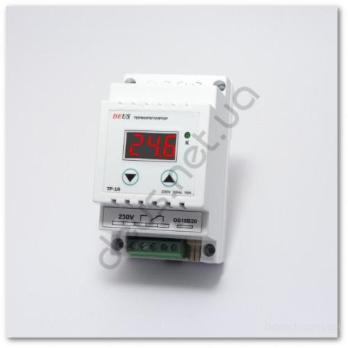 Терморегулятор (термореле) на DIN-рейку 16А/2.8кВт