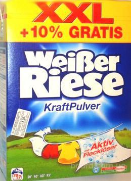 Weiser Riese - качественный супер стиральный порошок фирмы Henkel