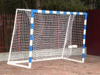 Как сделать ворота футбольные