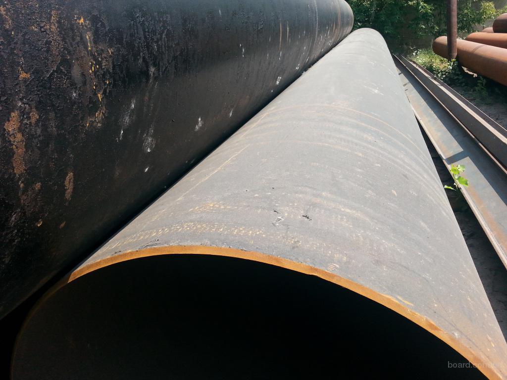 Трубы 1020х10 прямошовные не работали - 2 шт длинные 10,6-11,5 м