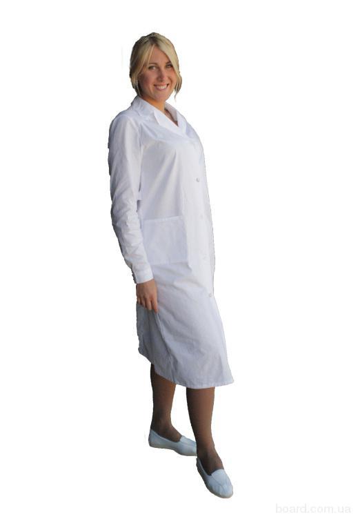 Халат медицинский модельный женский