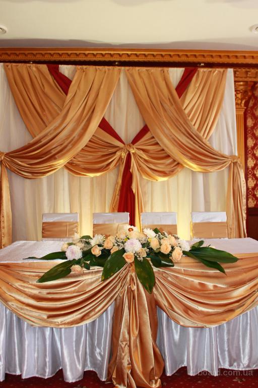 Украшение свадебного зала – на комплексе гарантирую скидку! Прокат свадебного декора, украшение свадебного зала и церемонии