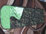 Спальный мешок, без ТМ, (легкое б/у), цвет хаки