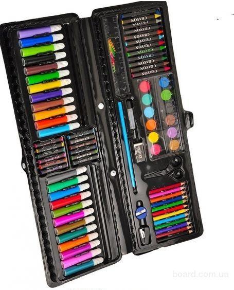 Набор для рисования (92 предмета) - детское творчество