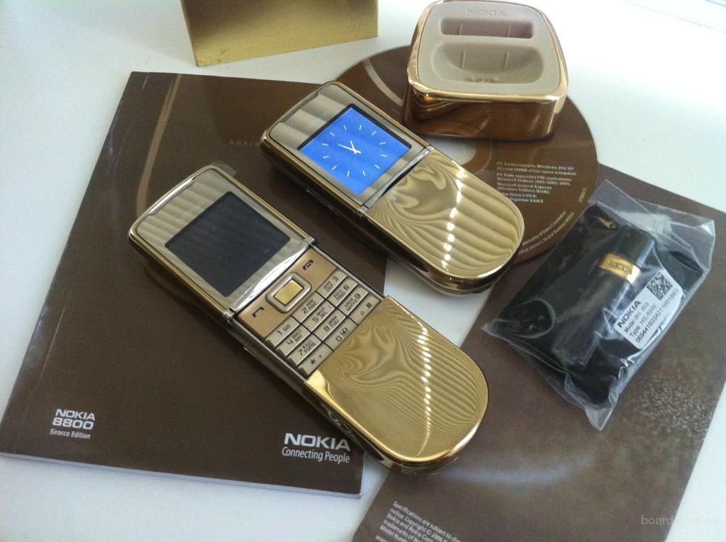 Nokia 8800 Sirocco Gold (Новый) Оригинал! Официальный!