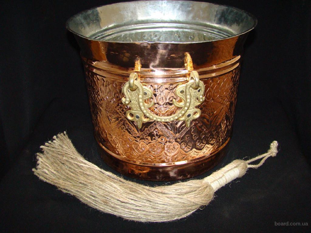 Ведро (емкость) для получения пены в турецком хамаме.
