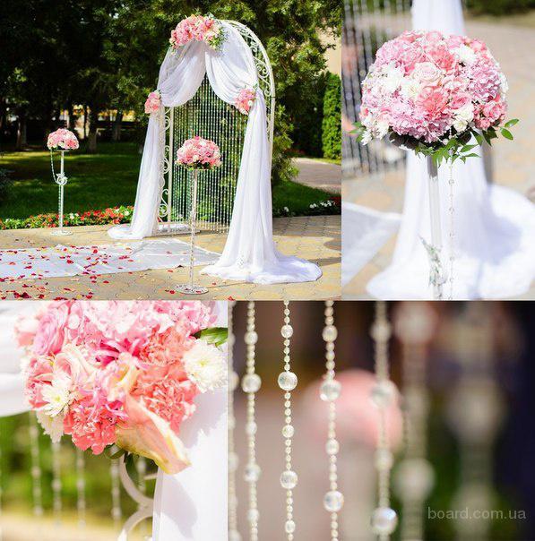 Аренда арки из лозы, прокат свадебной арки,  белая дорожка Прокат свадебной арки: с живыми и искусственными цветами, бумажными цветами и лоза