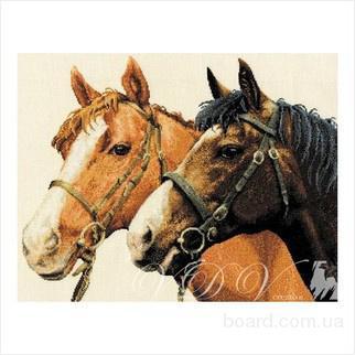 """Набор для вышивания картины ''Лошади"""""""