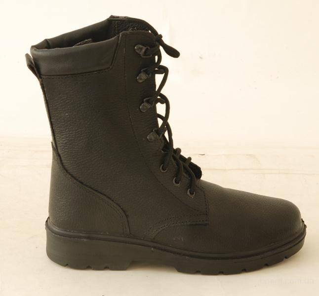 Ботинки с высокими берцами «Омон» юфтевые