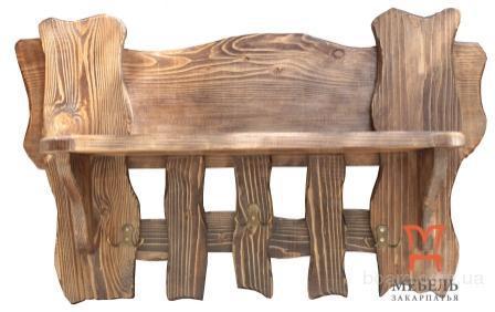 Вешалки из дерева под старину – мебель от производителя