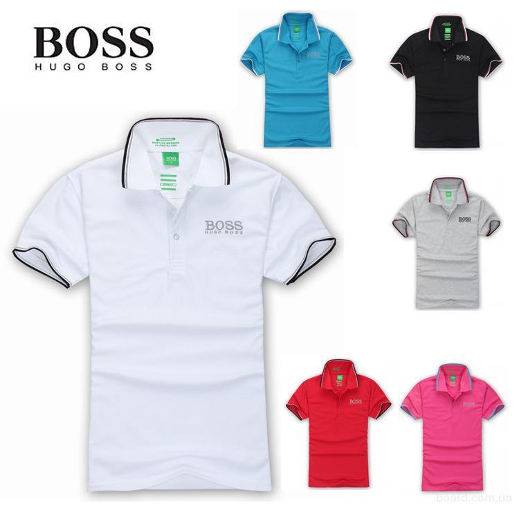 Hugo Boss мужская футболка поло