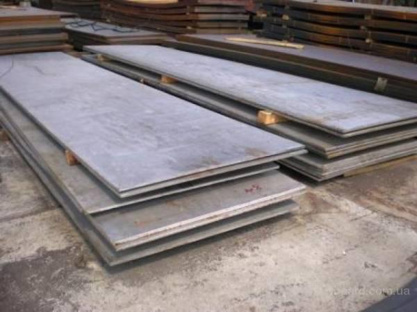 Лист стальной 6х1,5м, толщ. 6,8,10,12,14,16мм