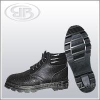 Ботинки юфтевые с мягким кантом