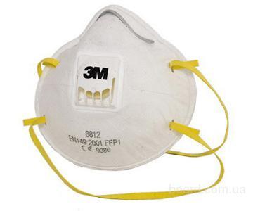 Противопылевой респиратор 3M FFP1 8812