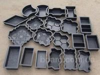 Формы для производства плитки тротуарной, бордюров, водостоков