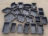 формы, формы для плитки тротуарной, формы бордюров,формы фасадов ,