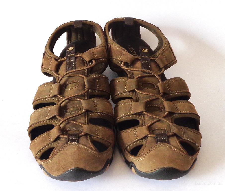Сандалии женские кожаные Skechers  40 размер