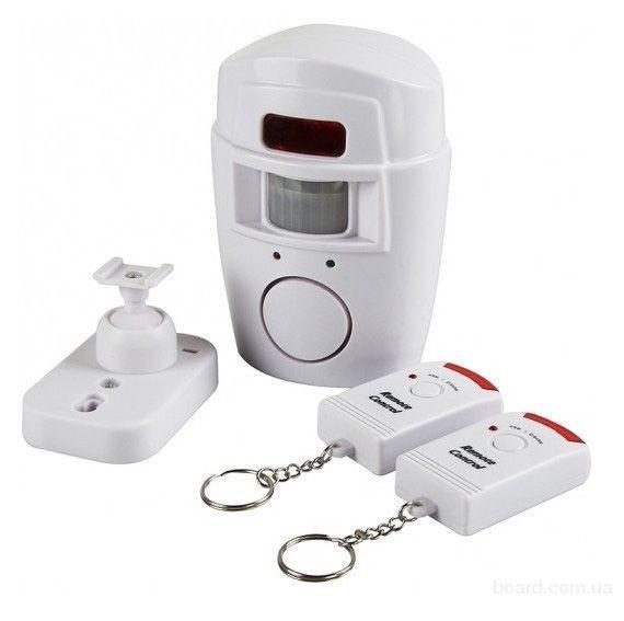Цина.Сенсорная сигнализация с датчиком движения (Sensor Alarm)