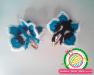 Детские резинки, заколки, обручи вязаные крючком