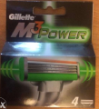 Лезвия Gillette MACH3 Power 4 шт (оригинал)