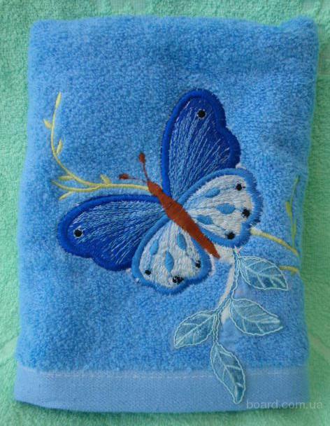 Полотенце махровое банное 70х140 см (Метелик великий)
