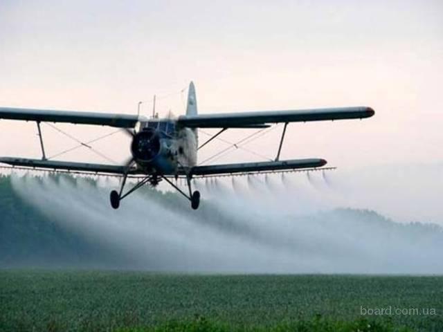 Авиационное внесение десикантов: недорого, качественно, быстро