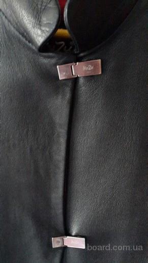 Кожаная куртка KUZU на осень весну