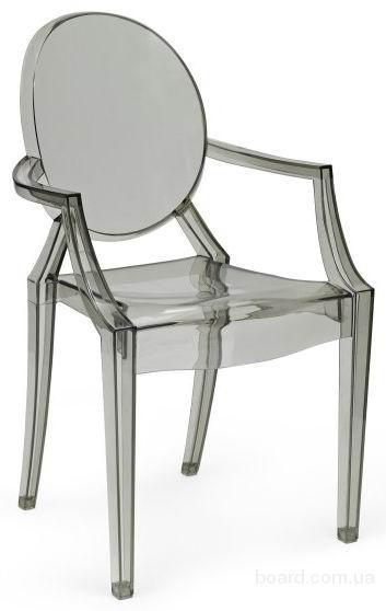 Пластиковые кресла Классик дымчастый