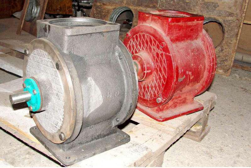 Производим реставрацию шлюзовых затворов(шлюзовиков) БПС(БШЗ,БШМ)  к мельницам АВМ-7,   АВМ-15