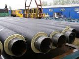 Труба стальная 133/225 в спиро оболочке