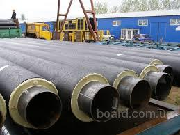 Труба стальная 820/1000 в спиро оболочке