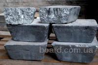Продам сурьму металлическую Su-0 в чушках