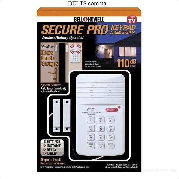 Продам.Система безопасности Secure Pro с магнитным датчиком, Burglar Alarm (Бурглар Аларм)
