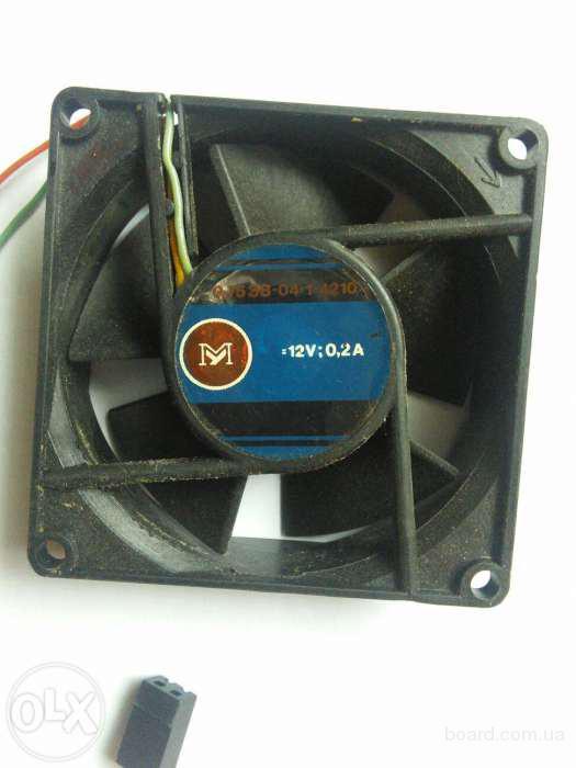 Вентилятор (кулер) 0.75ЭВ-0.4-1-4210