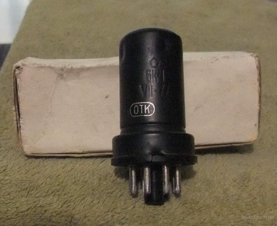 Радиолампы 6А7 и 6К4 новые с хранения