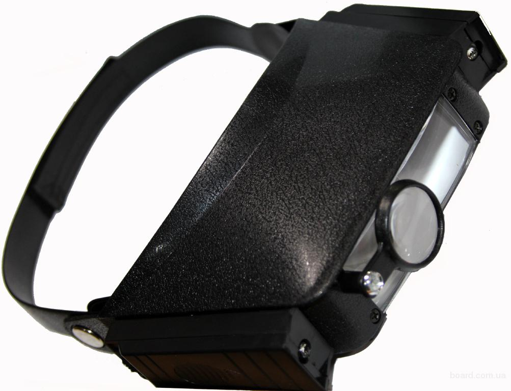 Лупа бинокулярная 1.5X 3X 6.5X 8X с подсветкой