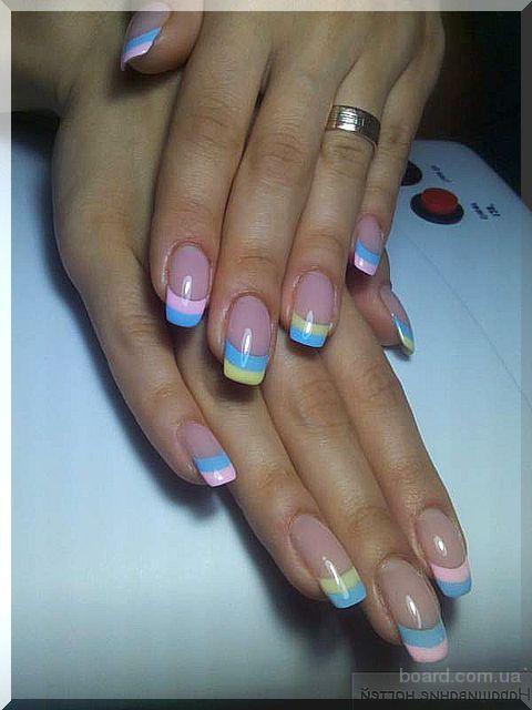 Как сделать узор на ногтях: - территория