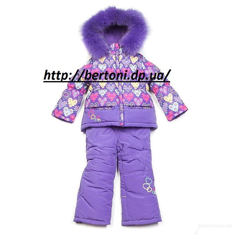 Детский комбинезон для девочек Kiko 3347 тинсулейт
