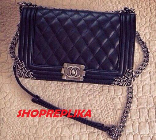 Копия Сумки Chanel Le Boy Flap Shoulder Bag . Сумки брендовые Турция