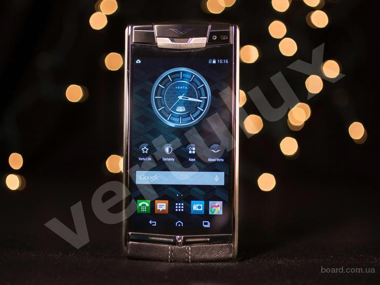Мощный смартфон Vertu Signature Touch Black Leather, Vertu, копии Vertu, Vertu Киев