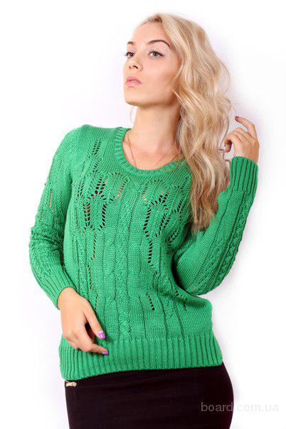 Вязаные женские свитера 2015 купить