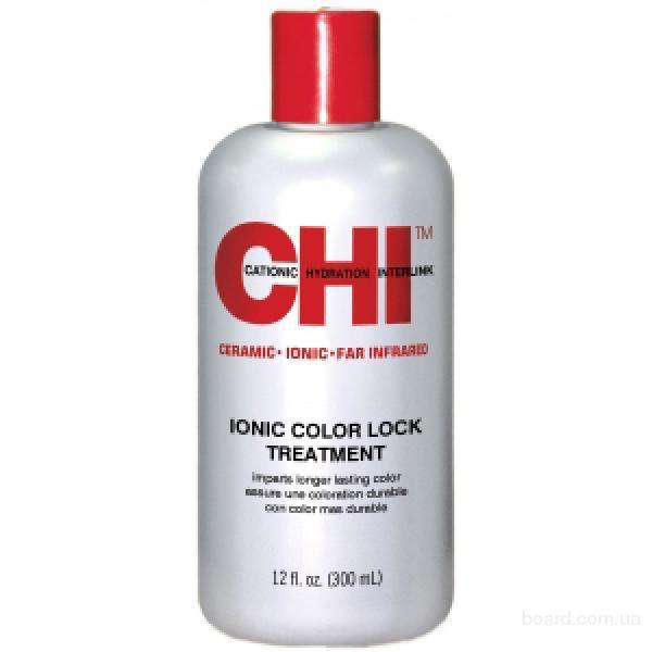 Маска-нейтрализатор химических остатков - CHI Ionic Color Lock Treatment, 300мл.-США