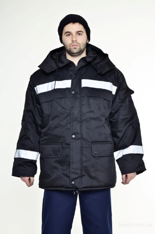спецодежда  - Куртка зимняя  Тайга с капюшоном продажа в наличии
