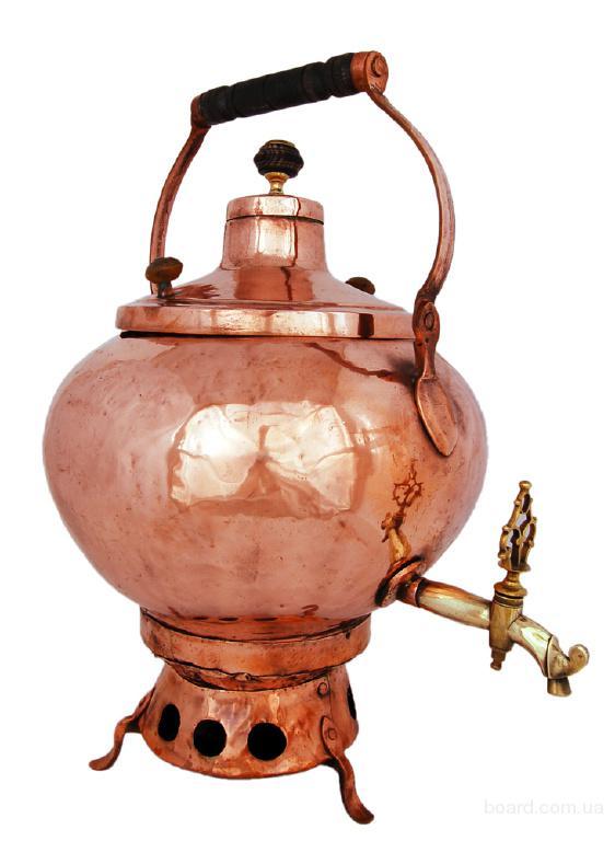 антикварный самовар сбитенник 12 литров. Самовар 18 века купить киев