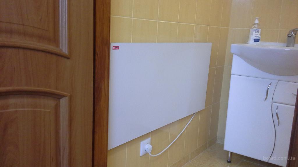 Инфракрасные обогреватели ECOS,500 Вт, отапливает до 12 м2.Лучшая цена