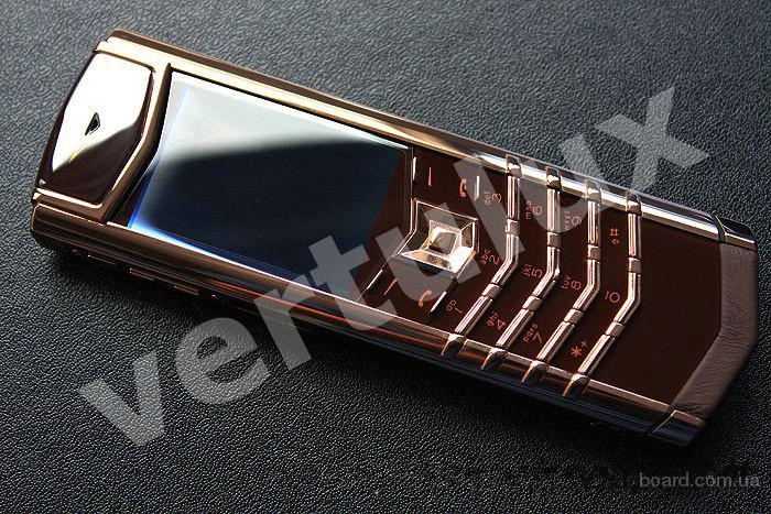 Vertu Signature S Design Chocolate Red Gold, Vertu, реплика Vertu, Копии Vertu, элитные копии Vertu, копии vertu Киев