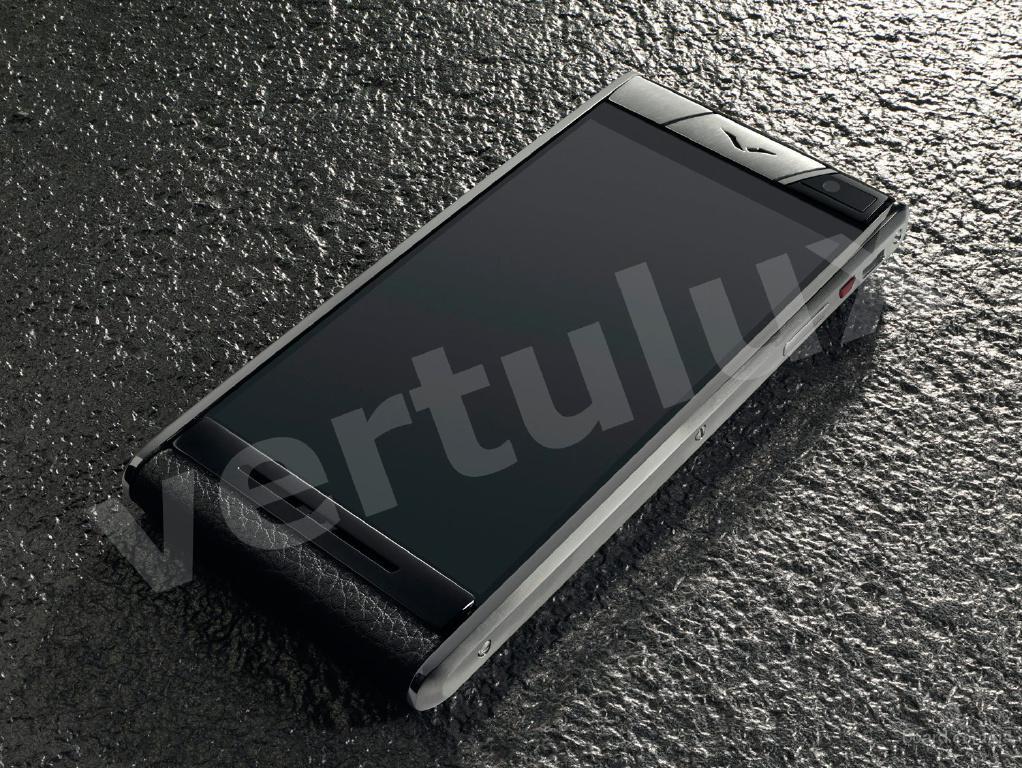 Vertu Aster Onyx Calf, Vertu, Копии Vertu, элитные копии Vertu, копии vertu Киев, реплика Vertu